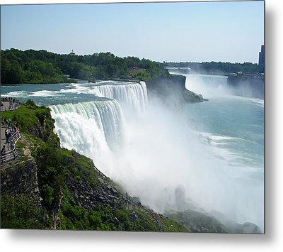 Niagara Falls Metal Print by Aimee L Maher Photography and Art Visit ALMGallerydotcom