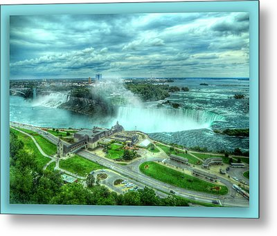 Niagara Falls Canada Metal Print