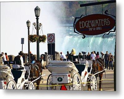 Niagara Falls Carriage Ride Metal Print