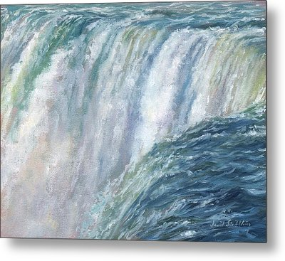 Niagara Falls Metal Print by David Stribbling