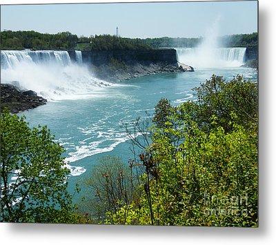 Niagara Falls - Springtime Metal Print by Phil Banks