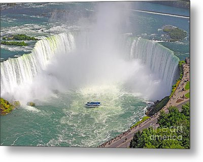 Niagara Falls Summer Metal Print by Charline Xia