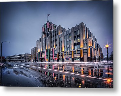 Niagara Mohawk Syracuse Metal Print by Everet Regal