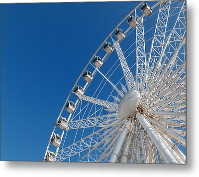 Niagara Sky Wheel Metal Print