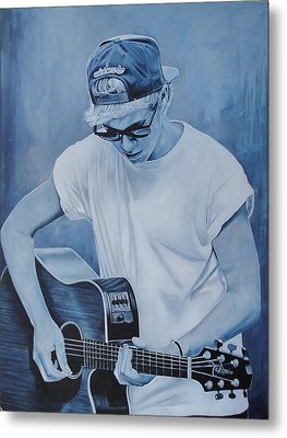 Niall Horan Metal Print by David Dunne