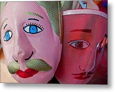 Nicaraguan Masks Metal Print
