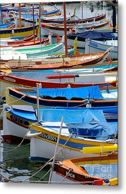 Nice Boats  Metal Print by Suzanne Oesterling