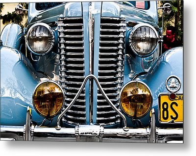 Nice Headlights Metal Print by Merrick Imagery