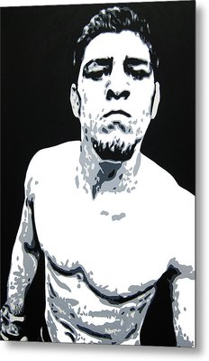 Nick Diaz 2 Metal Print