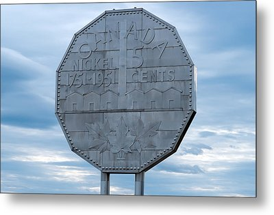 Nickel Monument Metal Print by Marek Poplawski