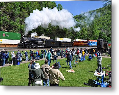Nickel Plate Berkshire At Horseshoe Curve Metal Print