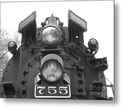 Nickel Plate Metal Print