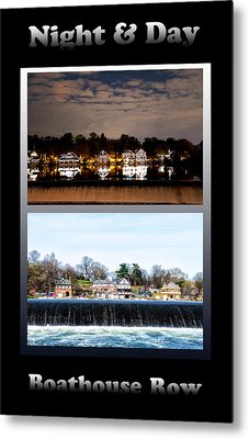 Night And Day Metal Print by Bill Cannon