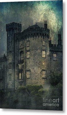Night Castle Metal Print by Svetlana Sewell