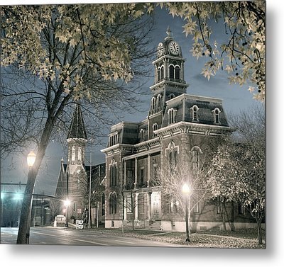 Night Court Metal Print by William Beuther