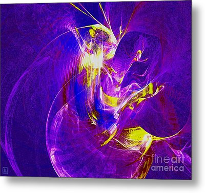 Night Dancer 1 Metal Print