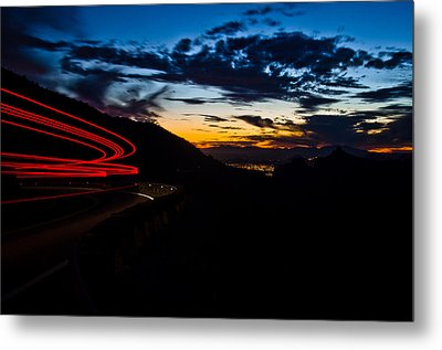 Night Delivery Metal Print