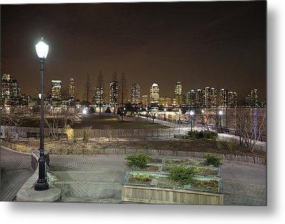 Night In New York City 4 Metal Print