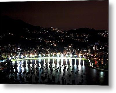 Night In Rio De Janeiro Metal Print by Daniel Precht