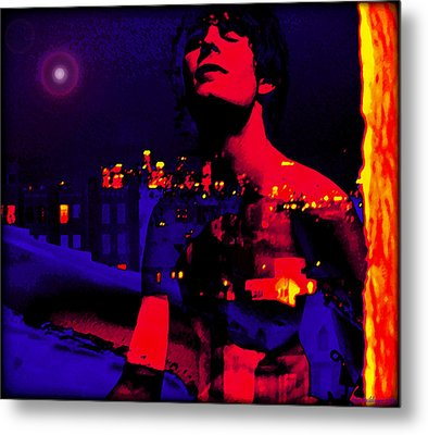 Night In The City Looks Pretty Looks Pretty To Me Metal Print