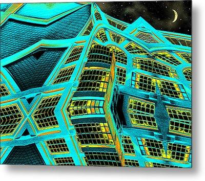 Night In This House Metal Print by Wendy J St Christopher