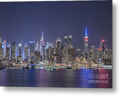 Night Jewels Metal Print