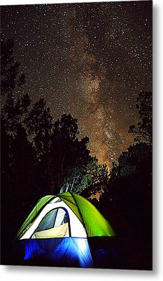 Night Lights Metal Print by Matt Helm