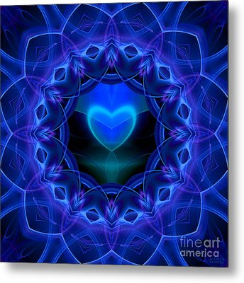 Night Love Gift Metal Print by Hanza Turgul
