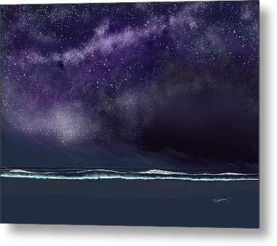 Night Of A Thousand Stars Metal Print by Anthony Fishburne