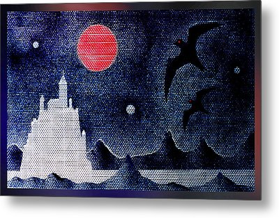 Night Of The Blood Moon Metal Print by Hartmut Jager