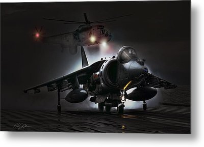 Night Ops Metal Print by Peter Chilelli
