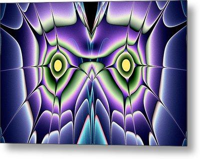 Night Owl Metal Print by Anastasiya Malakhova