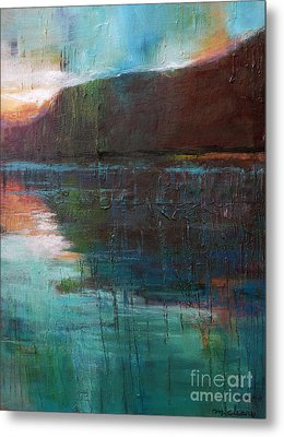 Night Passage Metal Print by Melody Cleary