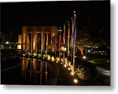 Night Reflections Metal Print