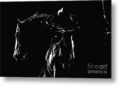 Night Riders Metal Print by Lincoln Rogers
