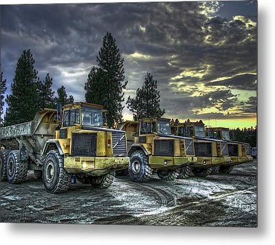 Night Shift Metal Print by Daniel Hagerman