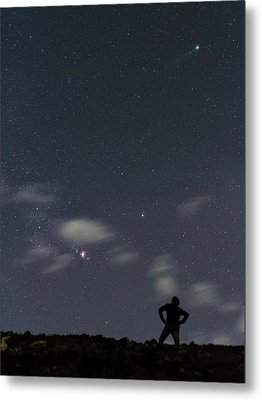 Night Sky Over Canary Islands Metal Print by Babak Tafreshi