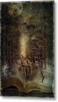 Night Story Metal Print by Svetlana Sewell