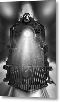 Night Train On The Move Metal Print
