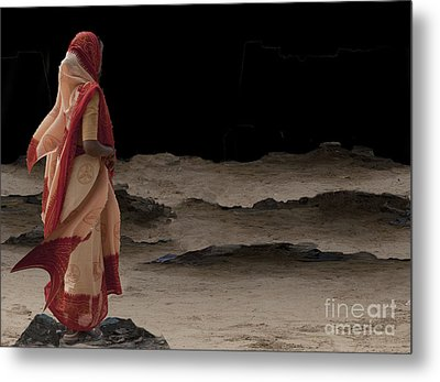 Night Vision Metal Print by Angelika Drake