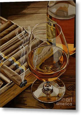 Nightcap Metal Print