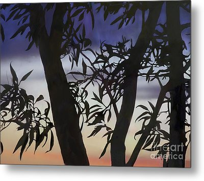Nightfall Metal Print by Ursula Freer