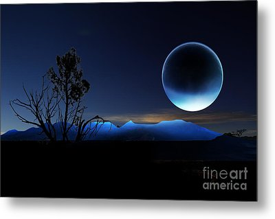 Nightrise Metal Print by Angelika Drake