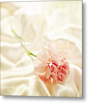 Nights In White Satin Metal Print by Theresa Tahara