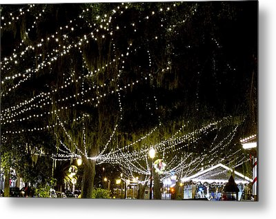 Nights Of Light 2 Metal Print by Kenneth Albin