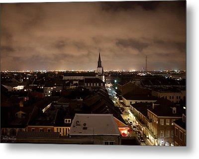 Metal Print featuring the photograph Nightscape by Shelly Stallings