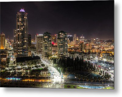 Metal Print featuring the photograph Nighttime by Heidi Smith