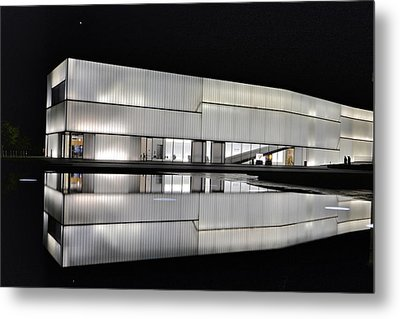 Nighttime Reflections Metal Print