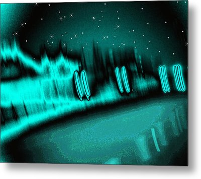 Nightwalkers Metal Print by Wendy J St Christopher