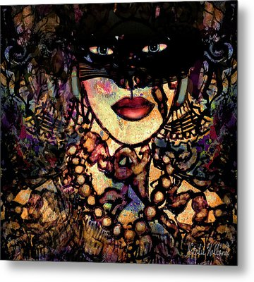Night Prowler Metal Print by Natalie Holland